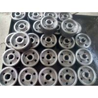 山东带轮厂家来料来样加工各规格不锈钢同步带轮,三角带轮weitian