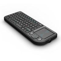 厂家直销2.4G无线迷你触摸键盘 A8无线键盘带触摸板 手持无线键盘