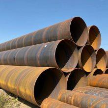 400型号螺旋钢管冬季小区供热管道更换