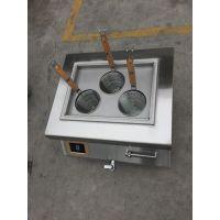 方宁电磁台式煮粉炉 三孔煮面机 台式小型煮面炉