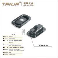 【天甲】M57-1 卡车车身工具箱 拖车车身盒锁 工程设备锁 电柜锁带锁芯