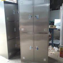 供定做食堂不锈钢碗柜,快餐盘柜,更衣柜