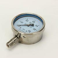 316不锈钢压力表100不锈钢防腐压力表Y-100BF