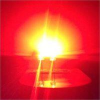 同灿爆款交通信号灯LED灯珠5mm圆形白发红光透明超亮14MIL发光角度30度交通显示屏专用灯珠