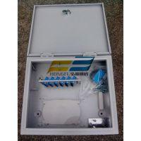 室外抱杆式12芯光纤分线箱