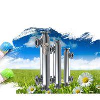 螺旋缠绕管式耐高温冷凝器 多种型号气气列管式换热器