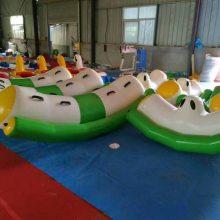游泳池水上跷跷板漂浮物充气玩具