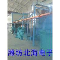 供应电烤炉电烤箱喷漆喷粉设备机械流水线bh-850潍坊北海电子涂装