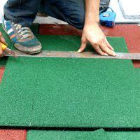 江门防潮橡胶地板拼接 采购弹性绿色地垫规格 健身房塑胶地垫批发厂家