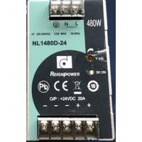 台湾昂NL1480D-24/480W24V20A导轨式开关电源经济型