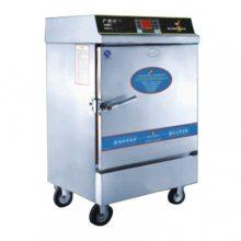 台式电热包子保温展示柜|四面玻璃展示包子柜|商用全自动五层蒸包机