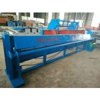 茂名4米液压折弯机价格 博远彩钢瓦折弯机剪板机辅助设备
