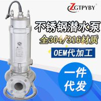供应全不锈钢排污泵304316水泵 化工电厂耐酸碱泵不锈钢泵耐腐蚀泵