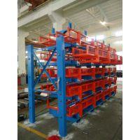 伸缩悬臂式货架维修厂家 广东不锈钢管存储形式 钢管存放方法 4吨悬臂架