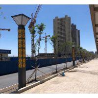 供应河南新乡户外园林防水广场小区景观灯柱 景观灯厂家 3.5米方形路灯