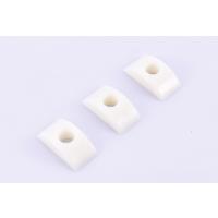 余姚顺迪塑料模具长塑料注射成型模半月形乳白色办月牙形 大小号月牙垫 半月螺母家具家电配件