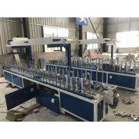 山东集成墙板包覆机bf-600a生产厂家年中促销林木机械