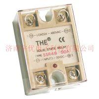 天豪固态继电器直流高频 DC转AC50A DC12V~ 480V SSR48-50A原装正品