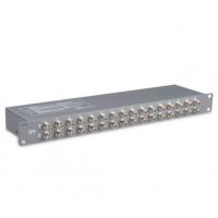 供应国安24路视频信号防雷器,24路DVR硬盘录相机防雷器,BNC信号防雷器
