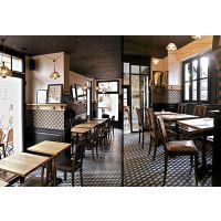 静安区牛蛙餐厅桌椅 湘菜餐厅实木桌子椅子定制厂家 现代中式