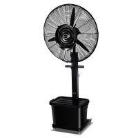 玖发新款黑色降温除尘保湿凉爽防暑好漆包线全铜电机喷雾风扇正品