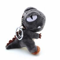 毛绒玩具 小号15CM短毛绒恐龙挂饰 定做钥匙圈毛绒恐龙吊饰