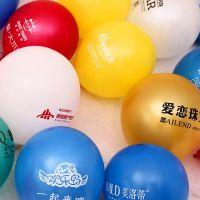 璀璨礼品气球专业生产热气球氢气球质量好 不易爆 印广告气球小号4寸