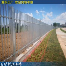 深圳别墅小区园林围墙栅栏包施工 清远新农村建设围栏 工业园隔离栅