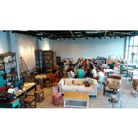 高档简约西餐厅椅子 实木咖啡厅椅子 时尚餐厅甜品店桌椅 韩尔家具供应