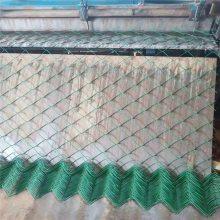铁丝网勾花网 浸塑勾花网 篮球场护栏厂家
