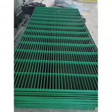 镀锌平台钢格栅板 楼梯踏步板防滑槽 钢格栅规格尺寸