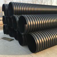 HDPE钢带增强螺旋波纹管规格,标准,压力,厂家