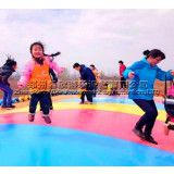生态园亲子游乐设施大蹦床农庄拓展基地PVC弹跳包场地游艺设备
