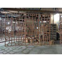 广东德普龙酒店装饰木纹铝型材窗花可订做厂家直销
