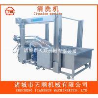 TSXQ-50型带自动打扫卫生装置鸡油菌清洗机@清洗食用菌设备
