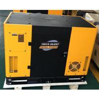 睿德R292双缸风冷柴油发电机组 12KW风冷柴油发电机组 15HP静音三相黄黑