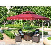 合肥咖啡厅室外桌椅伞组合,房产售楼处露天休闲桌椅