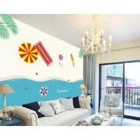 创意新奇特产品投资加盟小项目 装饰墙绘技术转让 特色五笔墙画