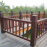 供甘肃陇西防腐木栏杆和天水防腐木护栏厂