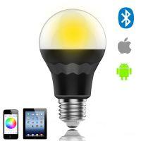 蓝牙 RGBW LED 灯泡 智能家居照明 蓝牙球泡灯 手机控制 认证过UL