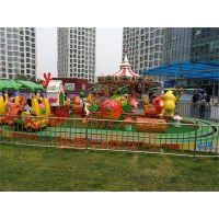 哈尔滨自主创新受欢迎的香蕉火车游艺设施创艺火爆热销