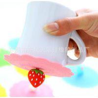 供应硅胶新品 小猫玻璃杯盖 吸盘杯盖 防尘防漏硅胶杯盖量大从优