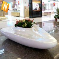 东莞厂家定制 商场玻璃钢等候椅 美陈休闲椅座椅 品质保证