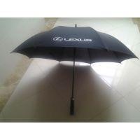 高档商务礼品伞广告伞、玻璃纤维抗风伞架 直柄 PG布雨伞定制工厂