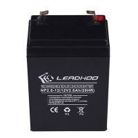 LEADHOO品牌 专业电池批发 12V2.6AH蓄电池