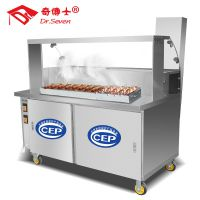 奇博士商用无烟烧烤净化车钢化玻璃木炭烧烤炉油烟净化器环保设备