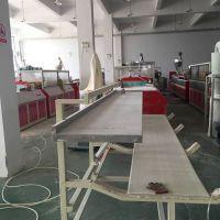 木塑快装墙板 竹木集成墙板设备 PVC木塑护墙板全套生产线价格 青岛金瑞机械