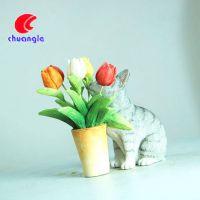 树脂猫咪摆件 工厂专业定制可爱小动物生肖模型