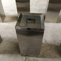 青蓝户外不锈钢单桶小区环卫垃桶桶 景区分类不锈钢果皮箱