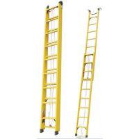 吉林玻璃钢绝缘升降梯8米全绝缘伸缩单梯派祥品牌高压220KV梯子